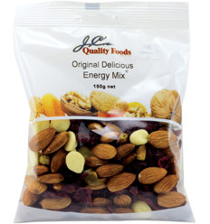 Jc's Delicious Energy Mix 150g x 12