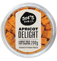 Jc's Apricot Delights 200g x12