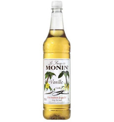 Monin Vanilla Syrup Pet 1l