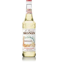 Monin Butterscotch Syrup Pet 1l