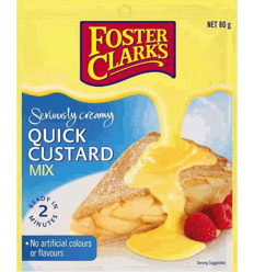 Foster Clark's Quick Custard Mix 80gm x 12