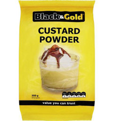 Black & Gold Custard Powder 350g