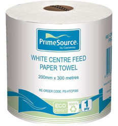 Primesource Centre Fold Paper Towel Roll 300m x 4