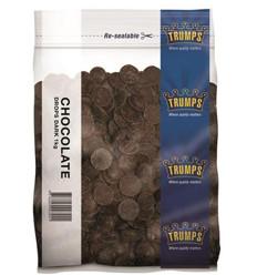 Trumps Dark Chocolate Buttons 1kg