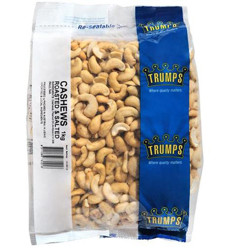 Trumps Roasted And Salted Cashews 1kg