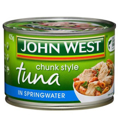 John West Tuna In Springwater 425gm