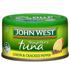 John West Tuna Tempters Lemon And Cracked Pepper 95gm