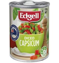 Edgell Diced Capsicum 125g