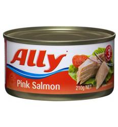 Ally Salmon Pink Salmon 210gm