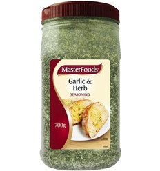 Masterfoods Garlic And Herb Seasoning 700gm