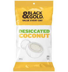 Black & Gold Desiccated Coconut 250g