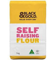 Black & Gold Self Raising Flour 1kg
