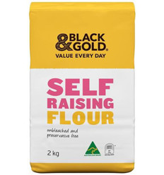 Black & Gold Self Raising Flour 2kg