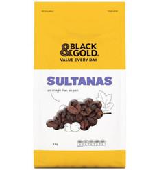 Black & Gold Sultanas 1kg
