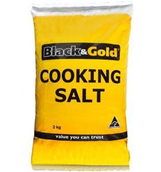 Black & Gold Cooking Salt 2kg