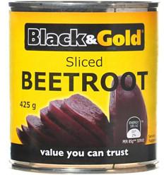 Black & Gold Sliced Beetroot 425gm x 24