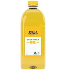 Black & Gold Australian Vegetable Oil 2l