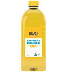 Black & Gold Australian Canola Oil 2l