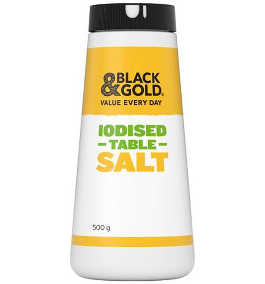 iodized table salt is an example of