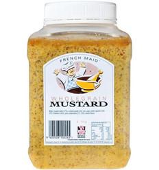 French Maid Wholegrain Mustard 2.1kg