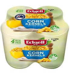 Edgell Corn Kernels Multi Pack 125g
