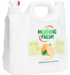 Morning Fresh Lemon Dishwashing Liquid 4l