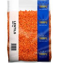 Trumps Red Lentils 1kg