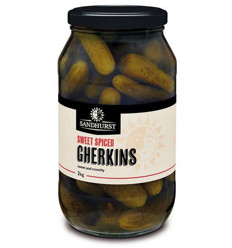 Sandhurst Sweet And Spliced Gherkin 2kg