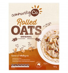 Community Co Rolled Oats 750gm x 6