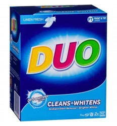 Duo Cleans And Whitens Laundry Powder 5kg x 1