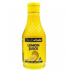 Black & Gold Juice Lemon 250ml