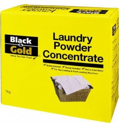 Black & Gold Laundry Powder Concentrate 1kg