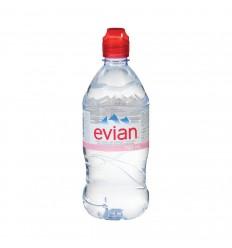 Evian Mineral Water 750ml Sports Cap x 12