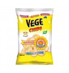 Ajita Vege Chip Natural 100g x 6