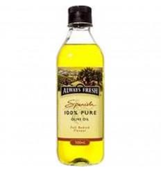 Always Fresh 100% Pure Spanish Olive Oil 500ml
