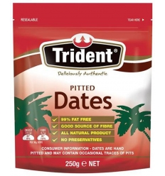Trident Pitted Dates 250gm