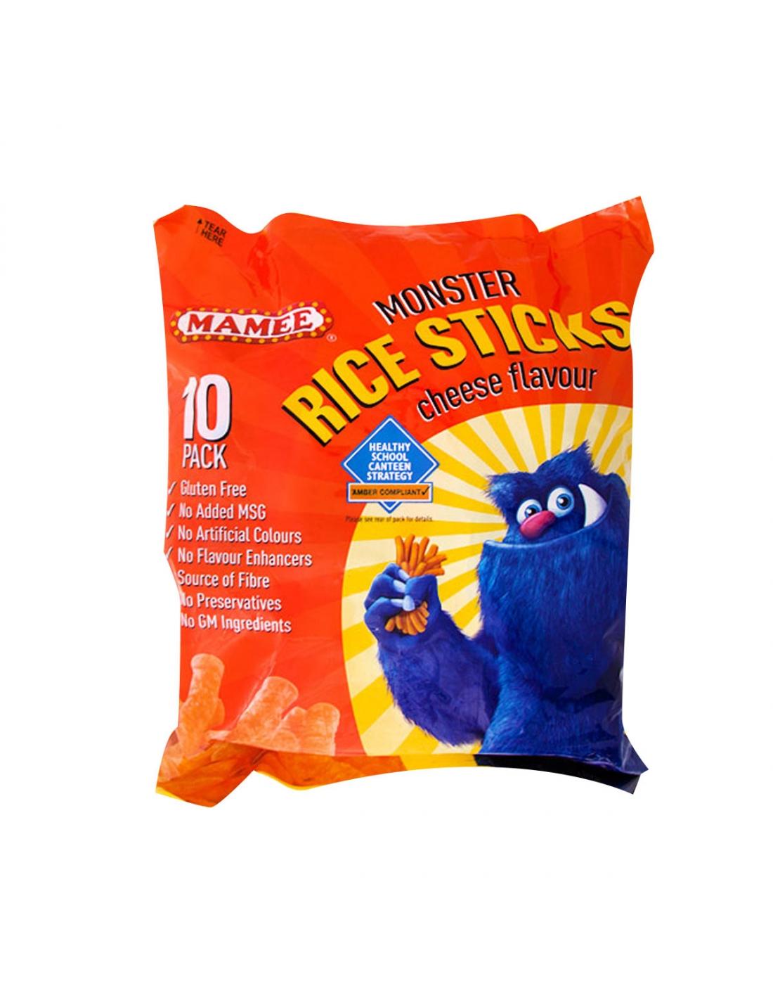 Mamee Rice Sticks Cheese 20g X 36