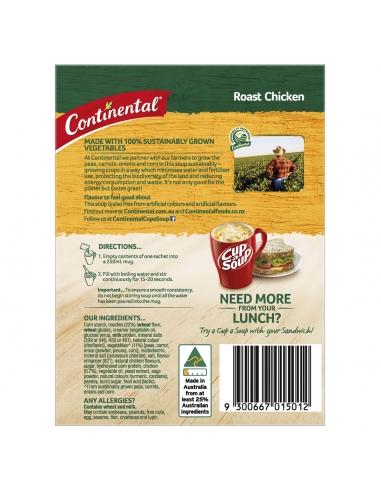 Continental Hearty Roast Chicken Cup-a-soup 2 porciones 75gm