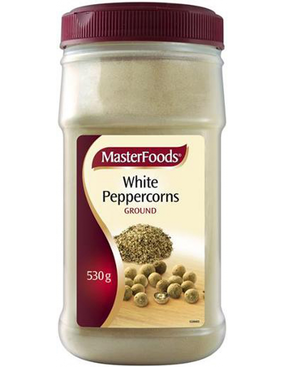 Masterfoods Ground White Pepper 530gm 9310012023463 Ebay