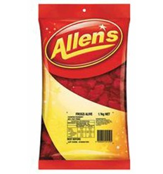 Allens Red Frogs 1.3kg