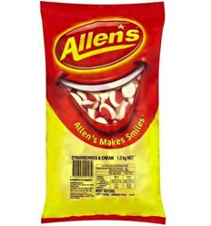 Allens Strawberry Cream 1.3kg
