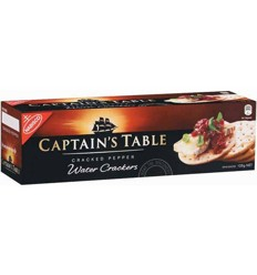 Nabisco Captains Table Pepper 125g