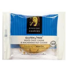 Byron Bay Gluten Free White Chocolate Macadamia 60g x 12