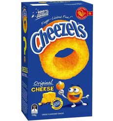 Cheezels Box 125g