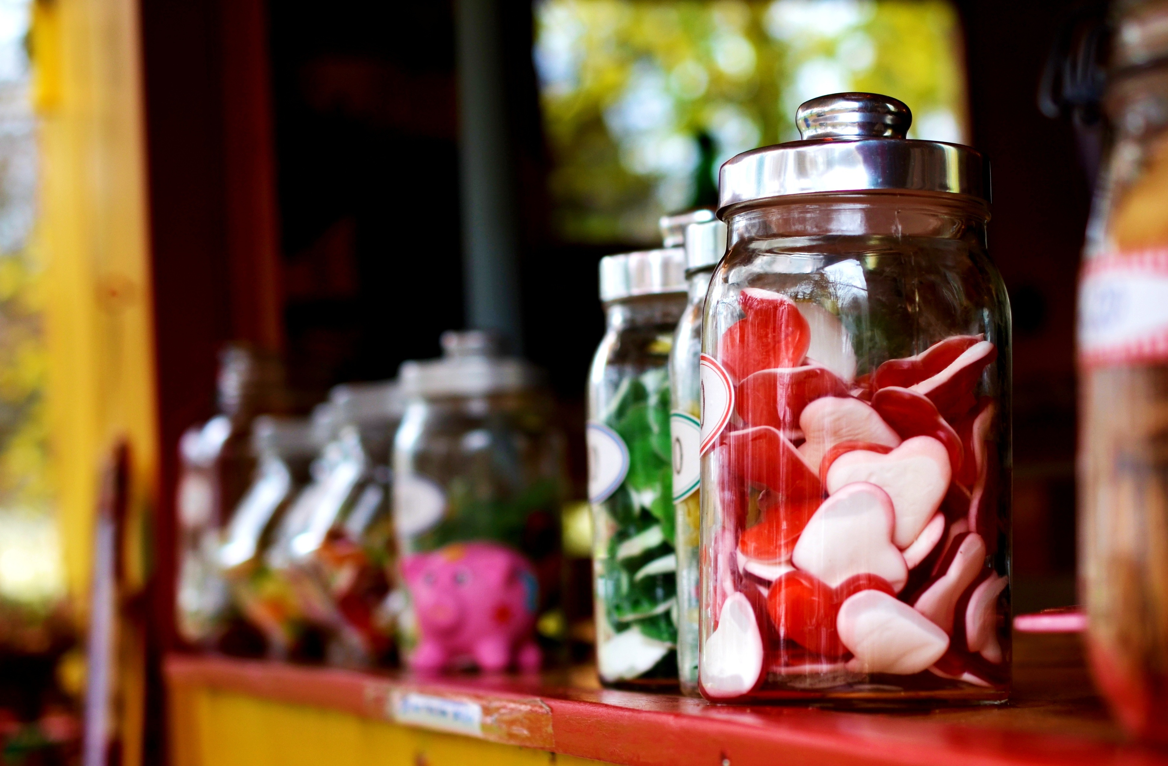Improve Employee Productivity and Job Satisfaction with Office Lolly and Snack Jars